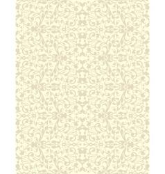 Natural linen striped vector