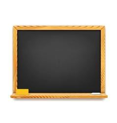 School blackboard background vector