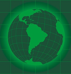 South america green vector