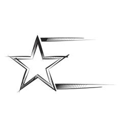 Star sketch vector