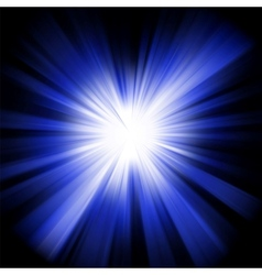 Star burst background vector