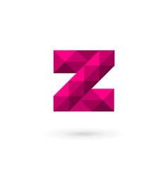 Letter z mosaic logo icon design template elements vector