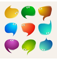 Speak bubbles vector