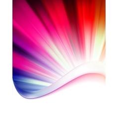 Abstract burst card vector