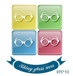 Glasses vector