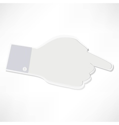 Index finger vector