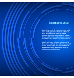 Blue business background presentation booklet vector