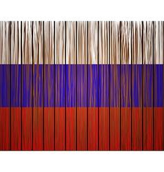 Grunge russian flag eps10 vector