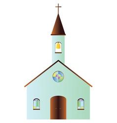 Cartoon church vector