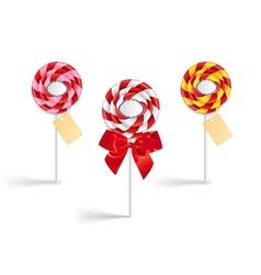 Lollipop collection vector