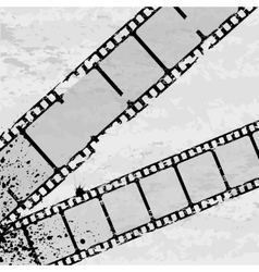 Grunge film vector