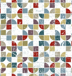 Geometric textile abstract seamless pattern vector