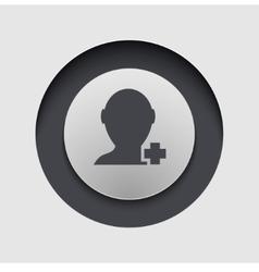 Modern circle icon eps10 vector