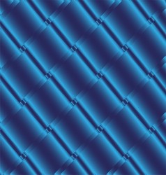 Blue metal background texture of aluminum vector