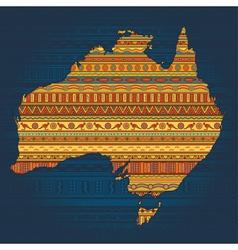 Australian ethnic elements vector