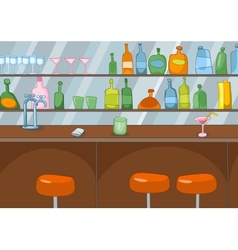 Bar cartoon vector