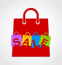 Sale bags vector