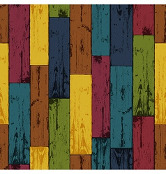 Colorful wooden background vector