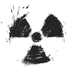 Radioactivity sign vector