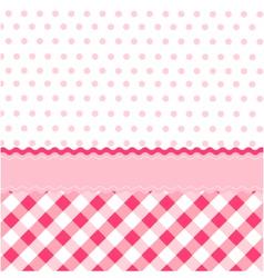 Seamless baby pattern wallpaper vector