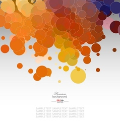Mosaic gradient geometric background vector