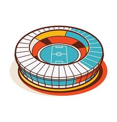 Sport stadium national vector