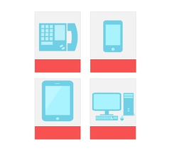 Comunication icon vector