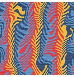 Ornate herringbone distortion vector