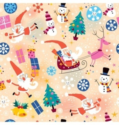 Christmas pattern 6 vector