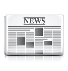 Object newspaper vector