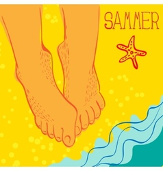 Summertime concept vector