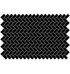 Block paving vector