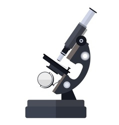 Microscope for medical vector