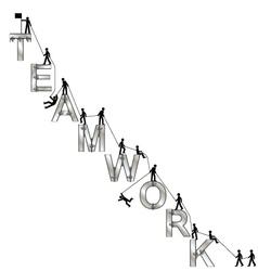 Teamwork message vector