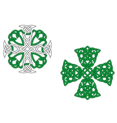 Celtic crosses vector