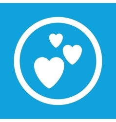 Love sign icon vector