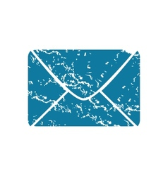 Envelope grunge icon vector