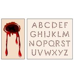 Wound alphabet vector