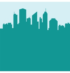Abstract city background vector