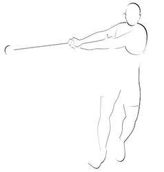 Hammer throwing 1 vector