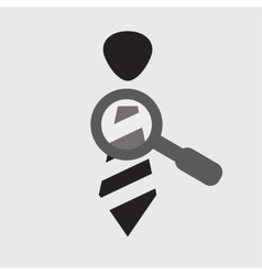 Research staff icon vector