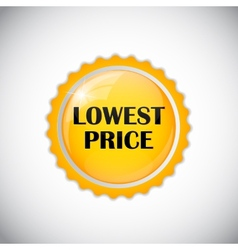 Lowest price golden label vector
