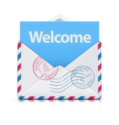 Welcome concept vector