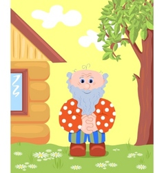 Grandfather outdoor vector