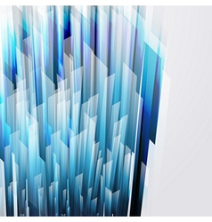 Abstract background wiht straight blue lines vector