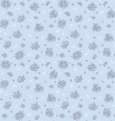 Floral pattern in vintage style vector