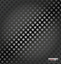 Star lite dynamic metal background vector