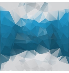 Blue-gray background polygonal vector