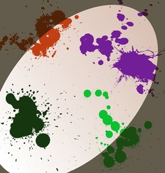 Blots in the spotlight vector