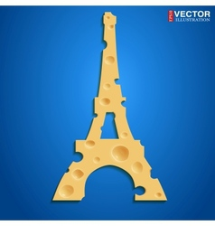 French cheese vector